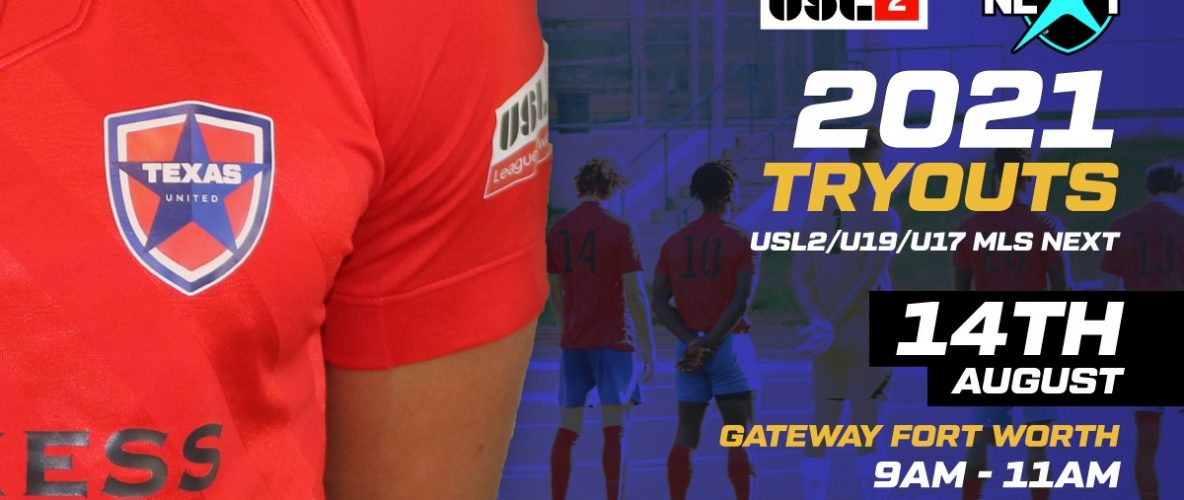 2021 Texas United Tryouts
